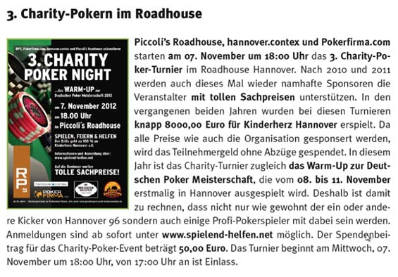 Pokern Hannover